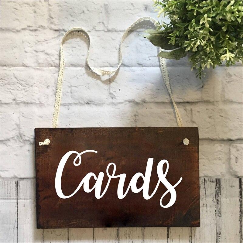 Cards Wedding Party Decor