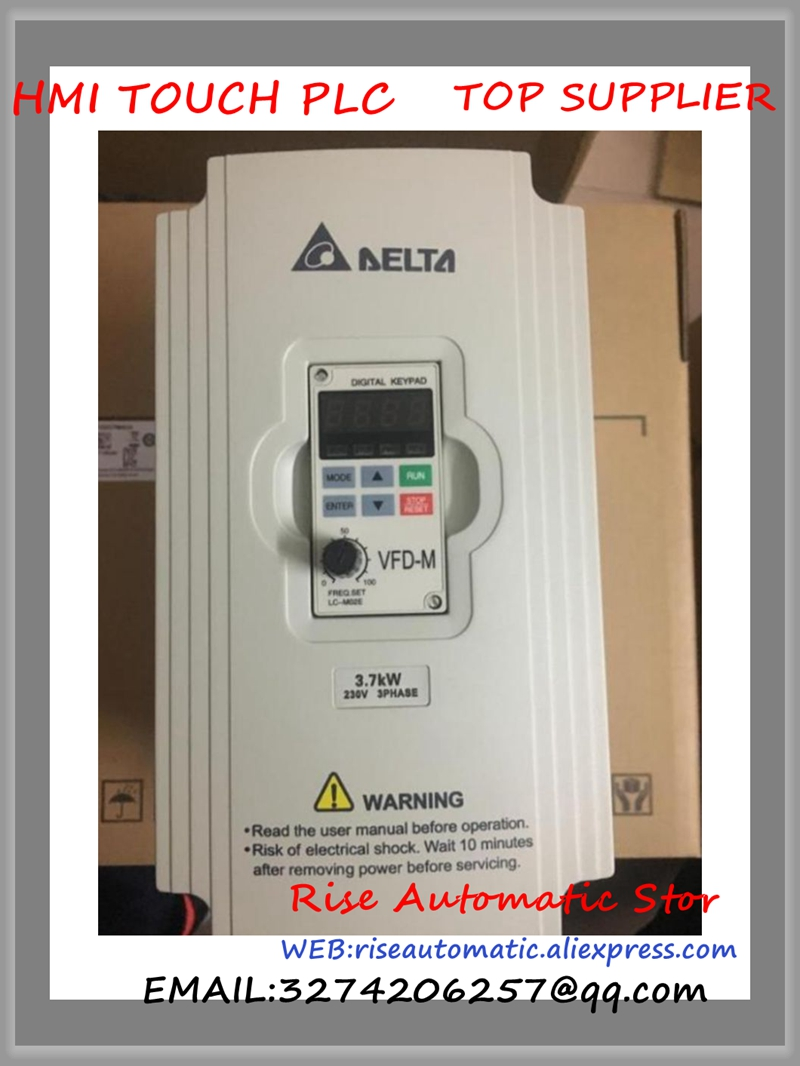 цена на VFD037M23A Delta VFD-M Inverter AC motor drive 3 phase 220V 3.7Kw 5HP 17A 400HZ new