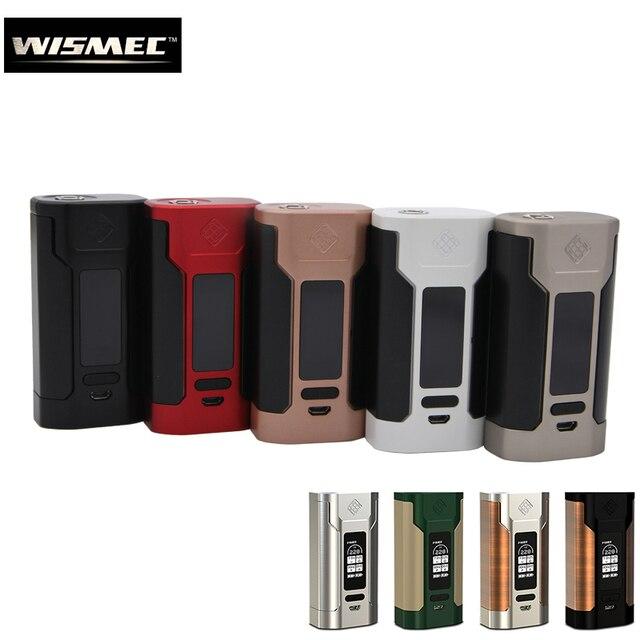Оригинальный wismec 228 с хищником 228 коробка mod VAPE 228 Вт Создано 18650 Батарея