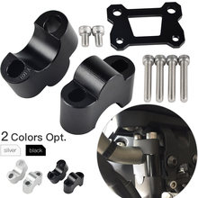 Pince de montage de guidon pour Yamaha | MT07 FZ07 2014 MT FZ 07 2015 2016 2017 support d'adaptateur de barre de poignée
