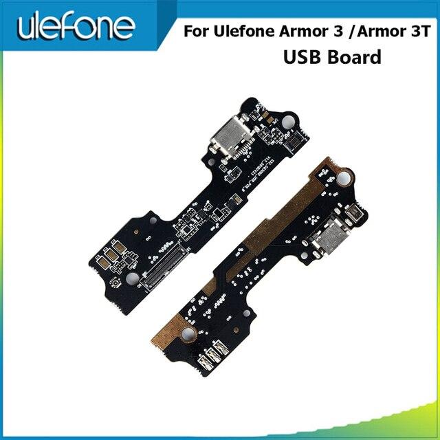 Alesser ل Ulefone درع 3 USB التوصيل تهمة مجلس الجمعية إصلاح أجزاء ل Ulefone درع 3t USB التوصيل تهمة مجلس موصل