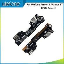 Ulefone armor 3 용 alesser ulefone armor 3 t usb 플러그 충전 보드 커넥터 용 usb 플러그 충전 보드 어셈블리 수리 부품