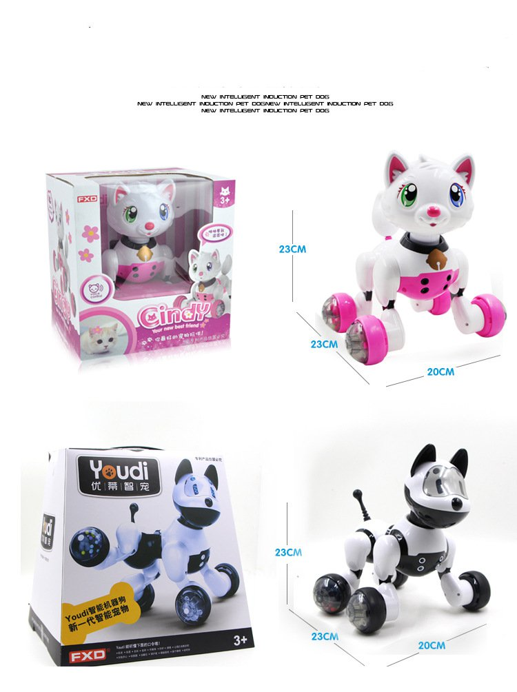 Interactive Walking Toy Dog