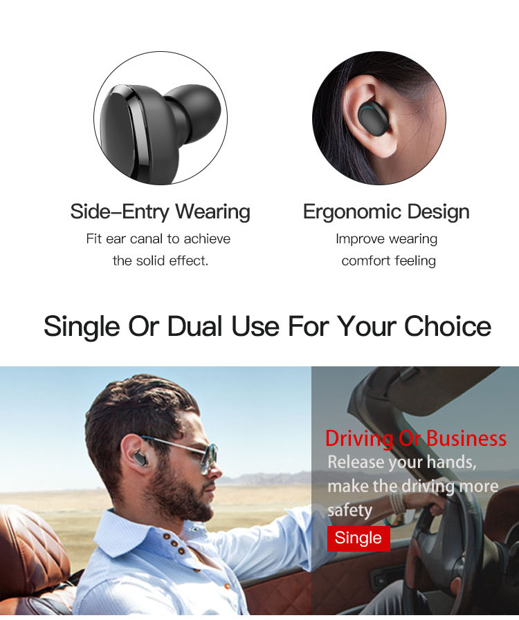 Original T12 Dual TWS True Wireless Bluetooth Headphones In-ear Stereo Music Headsets Invisible Earphone Hands-free Microphone_08