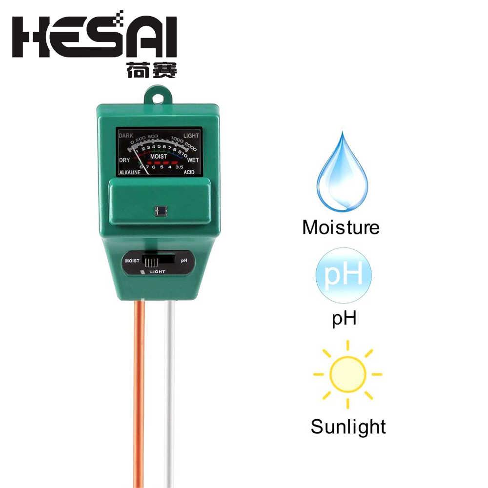 3 in 1 PH Soil Tester Moisture Tester Meter Sunlight Analyzer for Plant Flower