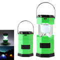 Solar Powered Rechargeable LED Camping Light Hanging Tent Lamp For Home Outdoor Camping Hiking Emergency Portable Lantern