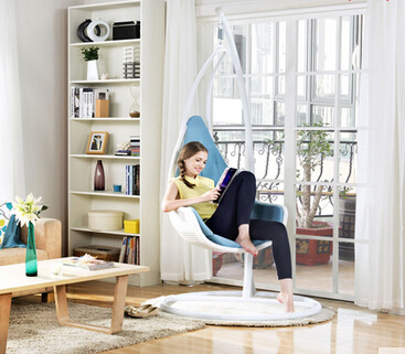 Indoor european style single hanging basket hanging chair. Swing. The balcony outdoor chair. Rocking chair