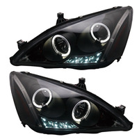 for Gen 7 Honda Accord Angel eye Projector Headlights fit 2003 2007 year cars