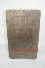 Afanti Music Oka wood Birch Wood Natural Cajon Drum KHG 138