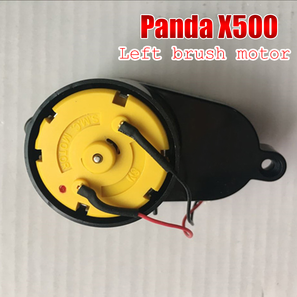 Original robot cleaner Repair part accessories left Side Brush Motors Assembly for PANDA X500 X850 Ecovacs CR120 CEN540 lit jn 325 portable 8400mah li ion battery power bank for phone ipad samsung more 5v