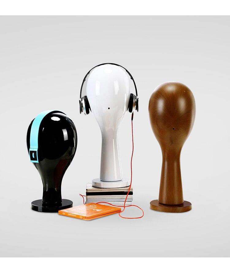 D10 1ks Hlava figuríny pro muže / ženy Klobouk dlouhé / krátké vlasy Paruka Ženy / Muž model brýle příslušenství manekýn okno Displej