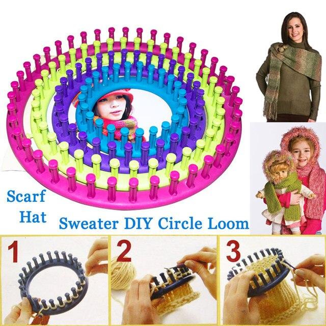 Aliexpress Buy 4size Brand Loom Diy Tool Kit Plastic Round