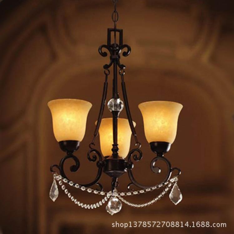 Ferro lampadario tre camere ristorante lampadario camera da ...