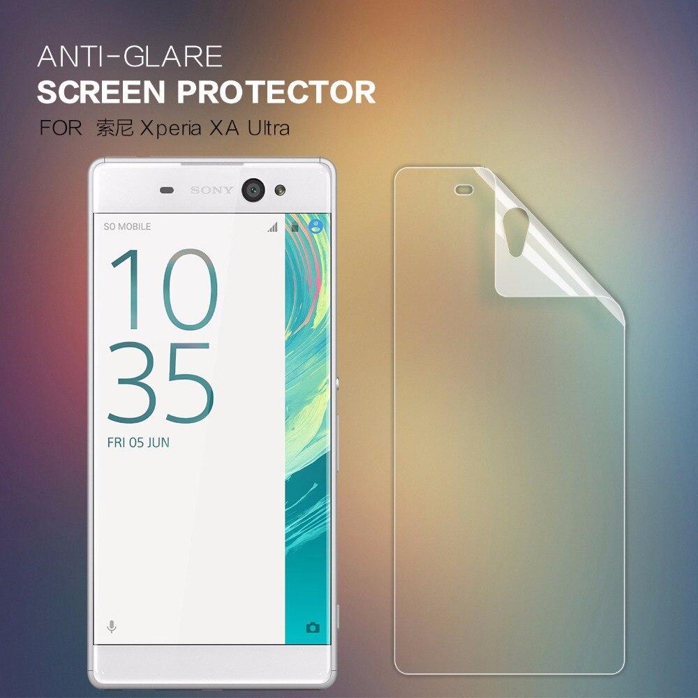 2 pcs/lot screen protector for Sony Xperia XA Ultra NILLKIN Anti-Glare Matte protective film for Sony Xperia XA Ultra
