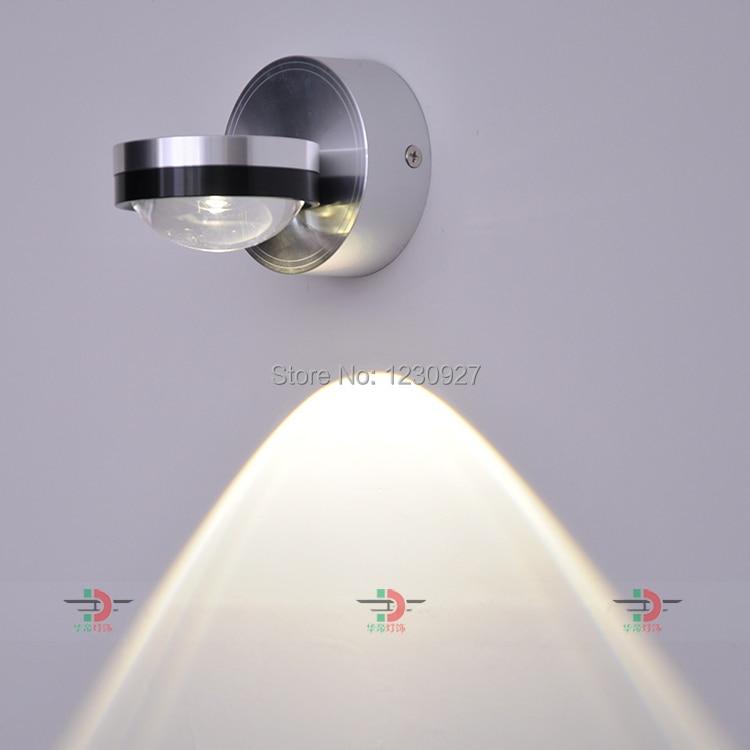 3W a fénytípust beállító fénytípus fényerejére fali lámpa - Beltéri világítás