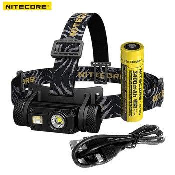 Nitecore HC65 Cree XM-L2 U2 светодиодный 1000lm USB перезаряжаемая фара Бесплатная доставка