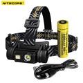 Nitecore HC65 Cree XM-L2 U2 LED 1000lm USB Ricaricabile Del Faro Spedizione Gratuita
