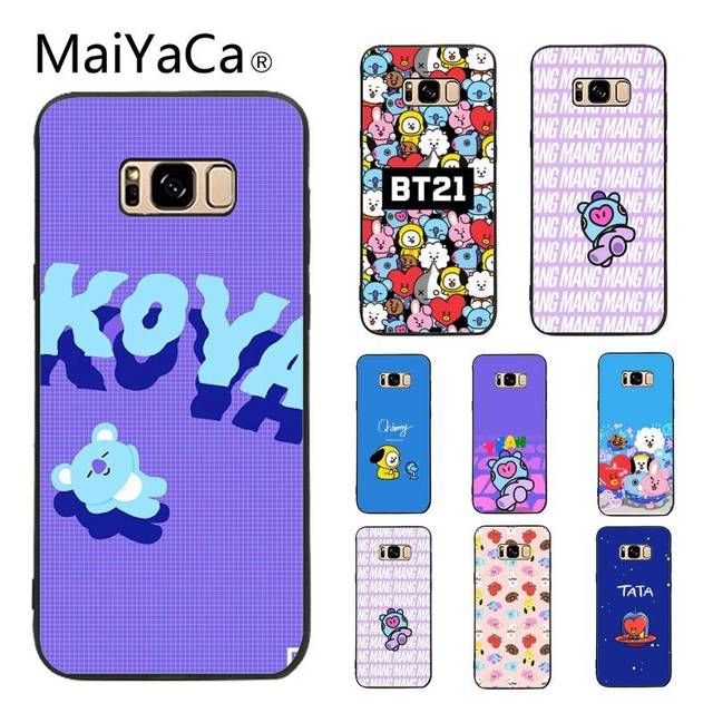 Maiyaca Case For Galaxy S9 Bts Bt21 Colourful Style Design Cell