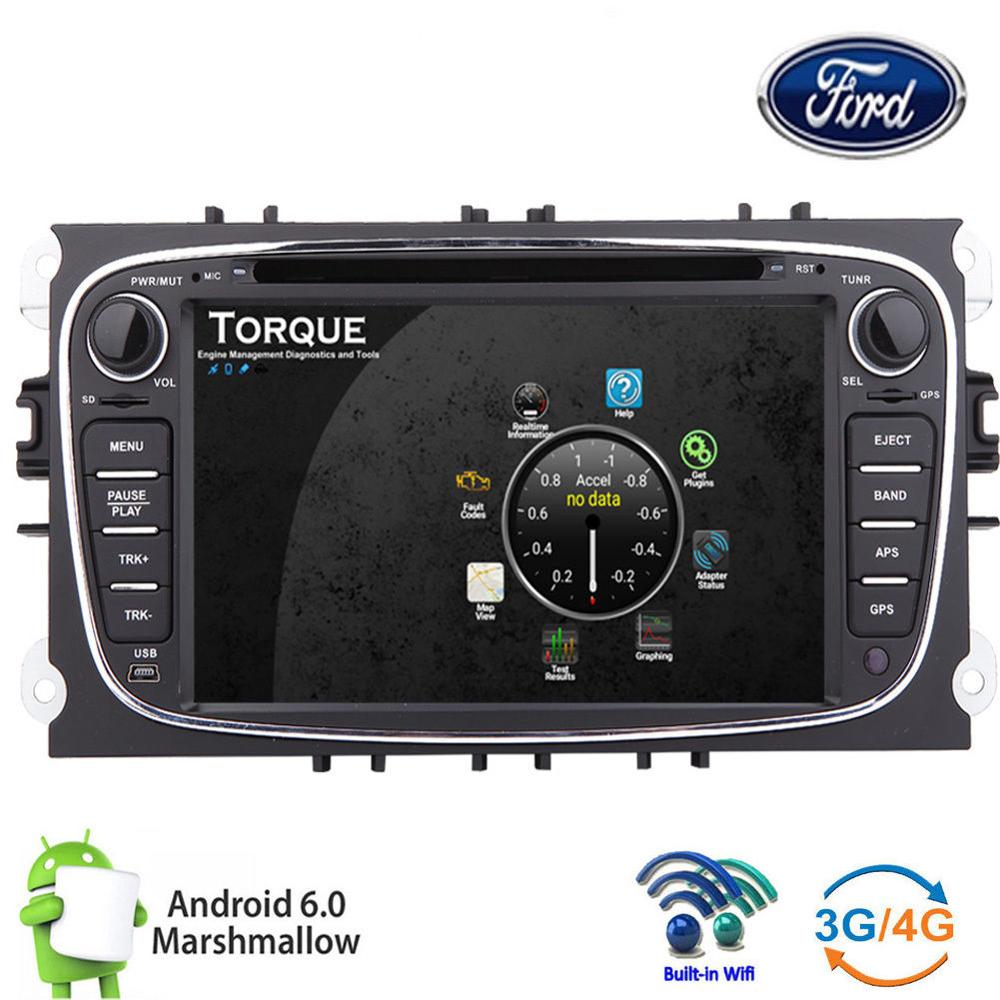car gps navi dvd radio stereo canbus android 6 0 for ford. Black Bedroom Furniture Sets. Home Design Ideas