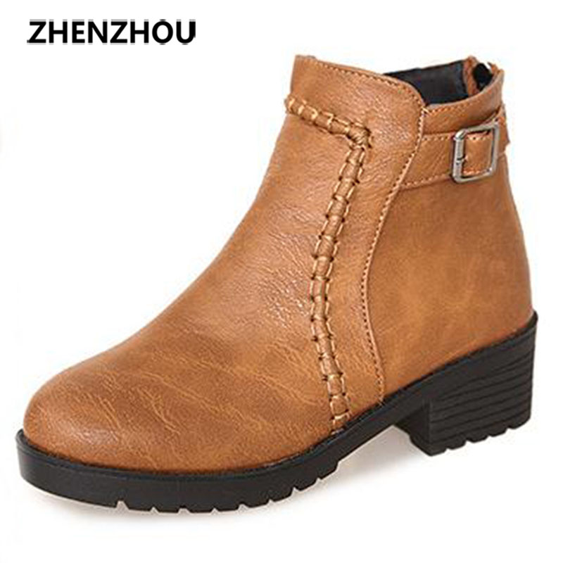 zhen zhou 2017 spring and autumn women's new fashion trend leadership Warm boots Thick with short boots exemption from postage pamela mccauley bush transforming your stem career through leadership and innovation