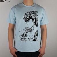 Fist of the North Star 48-Seite 1 T-shirt Top Lycra Baumwolle Männer t-shirt New DIY Stil
