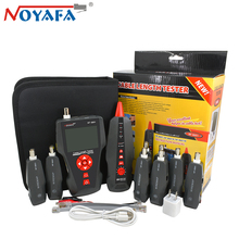 Original Noyafa NF-8601W RJ45 LAN Network Cable Tester for BNC PING POE RJ11 Telephone Line  Wire Tracker Diagnose Tone Detector free shipping noyafa nf 8601w tone generator cable length tester for network telephone coaxil cables with poe png testing