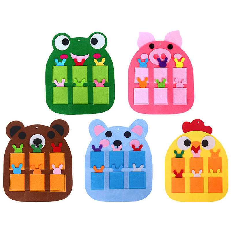 Children's Toys Kindergarten Teaching Digital Teaching Aids Kids Environmental Protection Non-pollution Non-woven Toys
