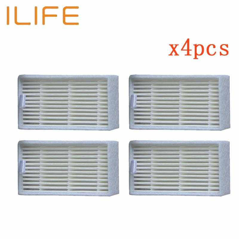4 PCS HEPA Filter accessories for chuwi ilife V3s V5 V5s ilife v1 V3 v5 pro ilife V50 V55 Robotic Vacuum Cleaner parts