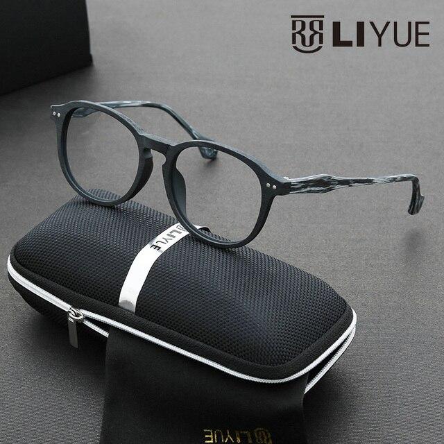 2016 оливер народов очки мужчин Высокого качества рецепт очки оптически рамки Ацетата полный обод моды specatcles женщины 6610