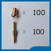 18205L Plasma Electrodes Extended 18866L Plasma Tip Nozzles Extended Fit PT 31 LG 40 Plasma Cutter