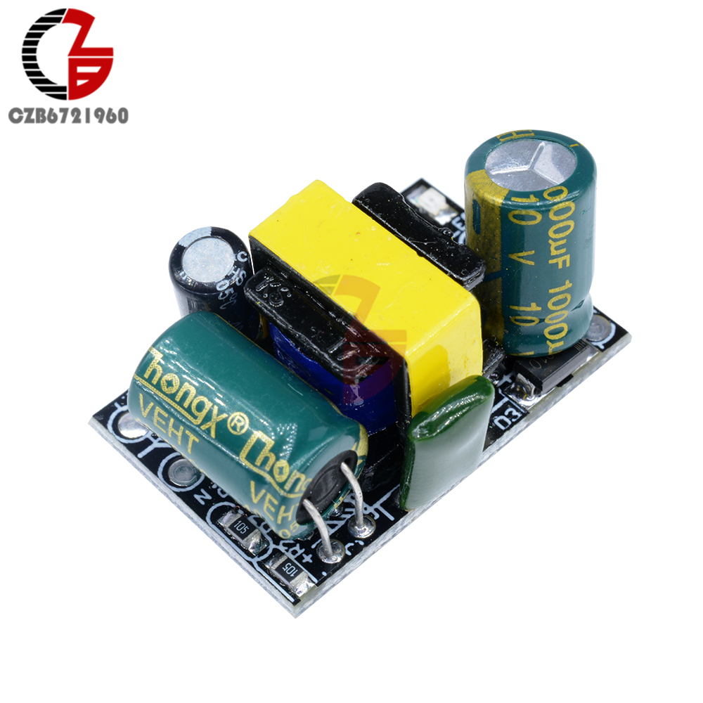 AC-DC Buck Converter Step Down Power Supply Transformer Voltage Module AC 110V 220V To DC 5V 700mA 800mA 3.5W for Arduino