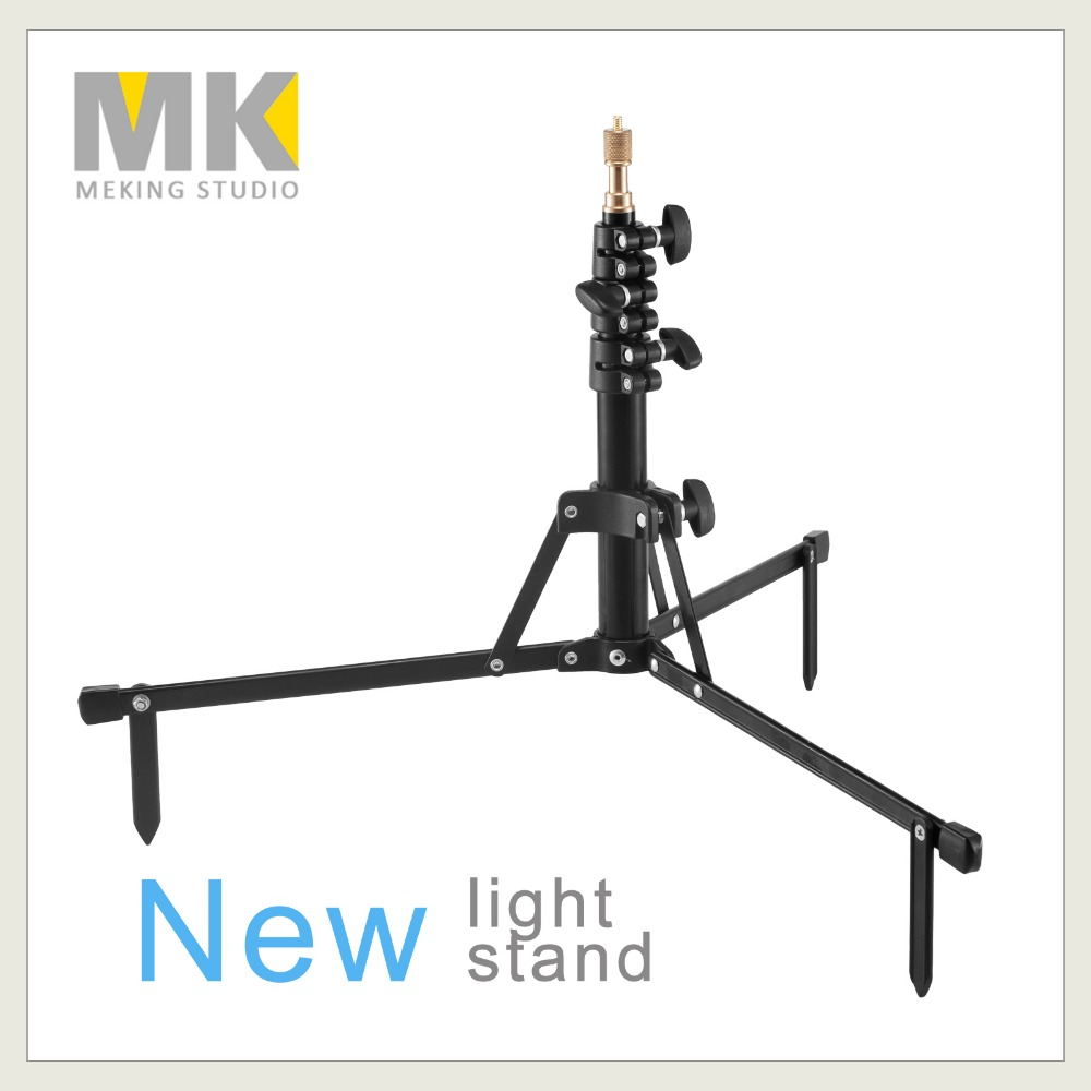 Meking Photo Studio Heavy Duty Light Stand MF-6027B shiort version for video lighting support system holder  цены