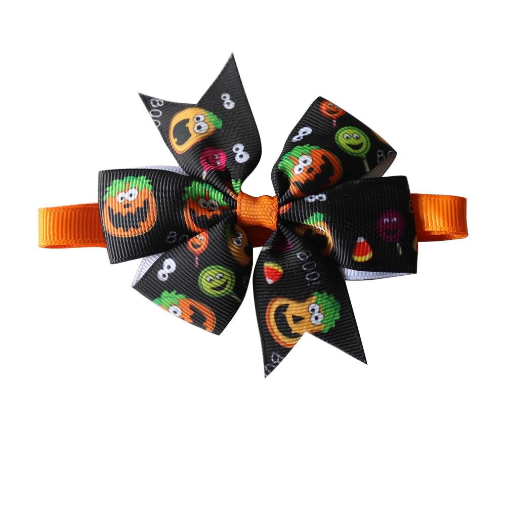 Image 5 - 30 sztuk akcesoria dla zwierząt domowych Halloween wakacje zwierzęta domowe są mucha dla psa krawaty regulowany krawat obroża dla szczeniaka łuk krawat kot produkt dla psa muszkiAkcesoria dla psówDom i ogród -