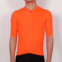 SPEXCEL 2018 NEW Bright Orange Top Quality Short Sleeve Cycling Jersey Pro Team Race Cut Lightweight
