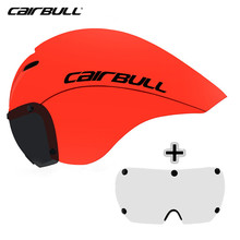 CAIRBULL 2 Lens Cycling Helmet Magnetic Goggles Road Bike Helmet