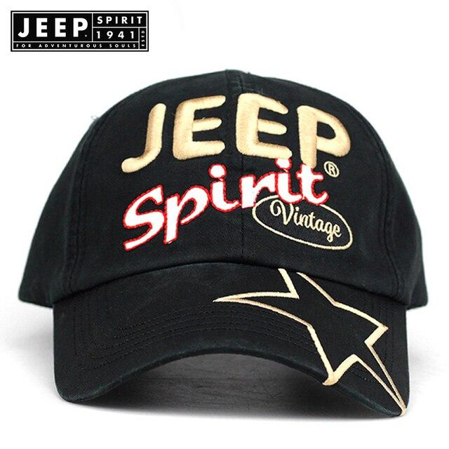 d084dd00 JEEP SPIRIT Cotton Baseball Cap Man's Women Snapback Hip Hop Hats Brand  Vintage Sports Bone Gorras Para Hombre Letter Embroidery