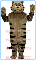 Ferocious wild cat mascot costume bobcat wild cat anime cosplay costumes carnival fancy dress kits for holidays halloween 2701