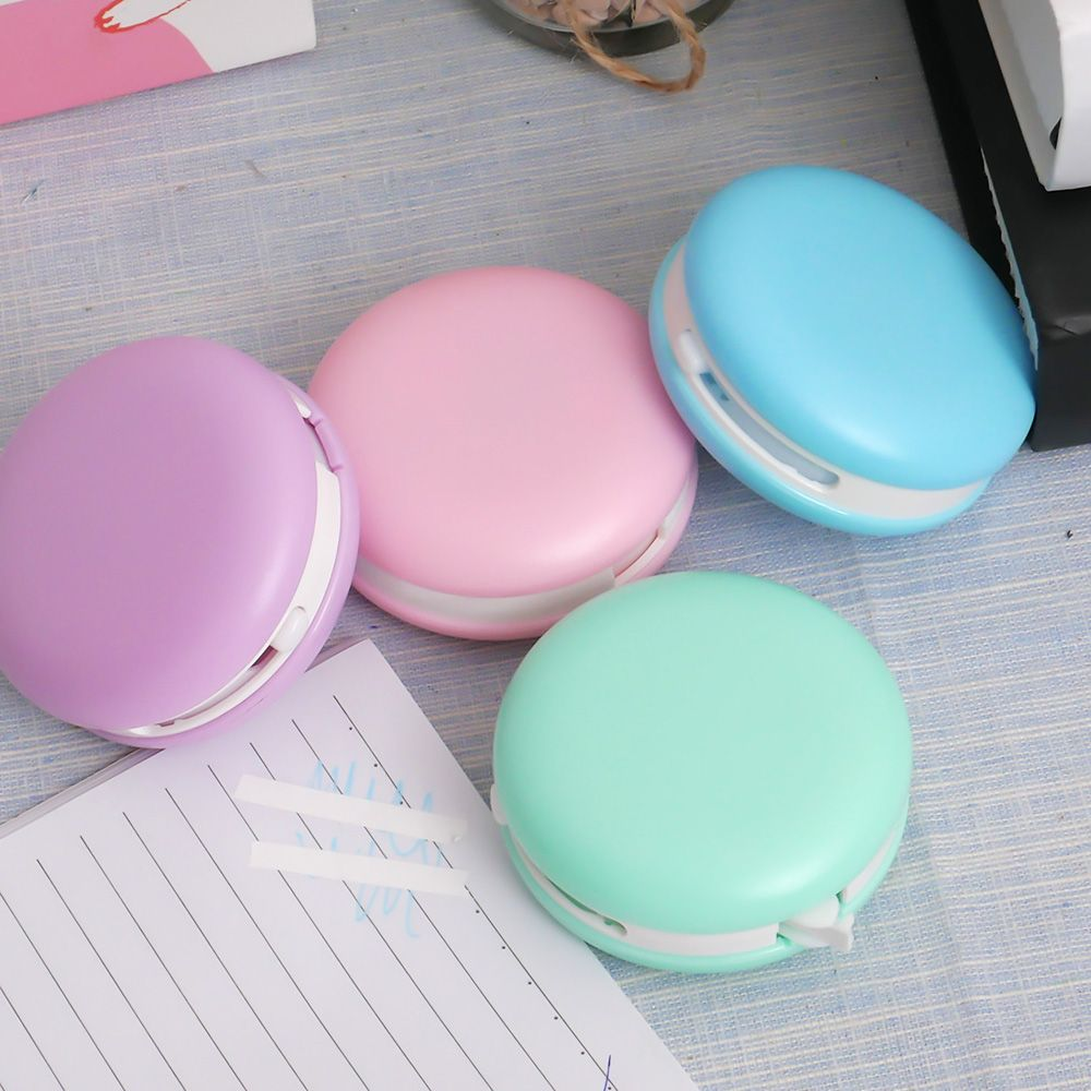 Korean Cute Kawaii Macaron Decoration 8m Correction Tape Corrector Escolar Correcting Eraser Kids Student School Office Supplies