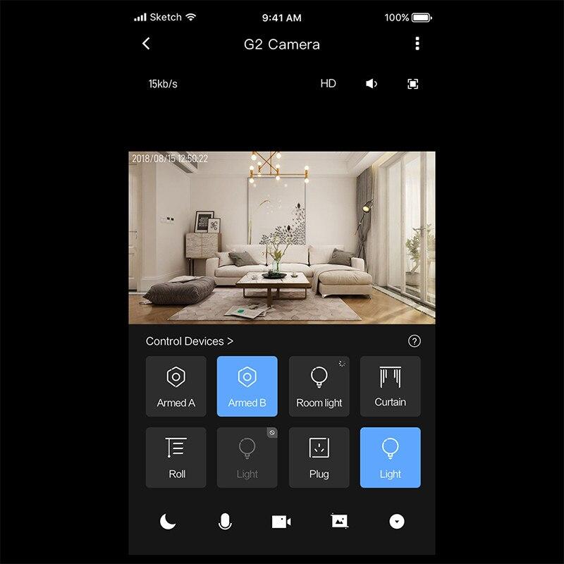 Xiao mi Aqara caméra G2 1080 P passerelle Version IP caméra AI Wifi sans fil Cloud sécurité à domicile appareils intelligents mi accueil APP Kit intelligent - 5