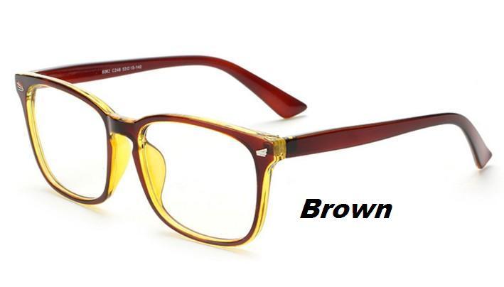 n64 new eyeglasses men women suqare brand designer eyeglasses frame optical computer eye glasses frame oculos