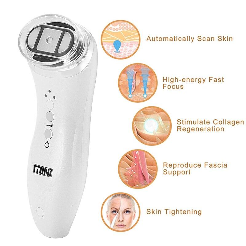 Konmison ultrasons Mini HIFU rajeunissement de la peau RF levage thérapie de beauté haute intensité focalisé dispositif de soins de la peau à ultrasons-in Outils soin du visage from Beauté & Santé    3