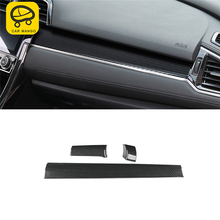 CAR MANGO Car Styling Middle Console Central Control Panel Cover Trim Frame Sticker Interior Accessories for Honda Civic 2016
