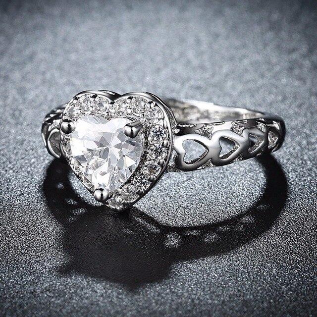 Фото 2020 красивые модные свадебные кольца серебряного цвета для
