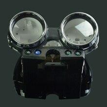 Мотоцикл Скорость метр часы инструмент чехол Измерительные приборы одометром Тахометр Корпус Обложка для Kawasaki ZRX400 1995-1997 95 96 97
