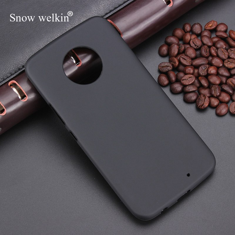Snow Welkin Gel TPU Slim Soft Anti Skiding Silicone Case Back Cover For Motorola Moto <font><b>X4</b></font> <font><b>XT1900</b></font> 5.2inch Rubber Bag Coque Fundas image