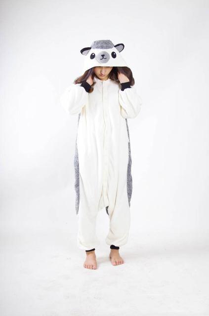 Kigurumi взрослых унисекс Пижама «Ежик» Комбинезоны Пижама животных костюмы  косплэй мультфильм пижамы b94c93d67c048