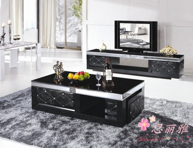Modern TV Stand/Modern Tempered Glass TV Stand/LCD Stand/TV Table/