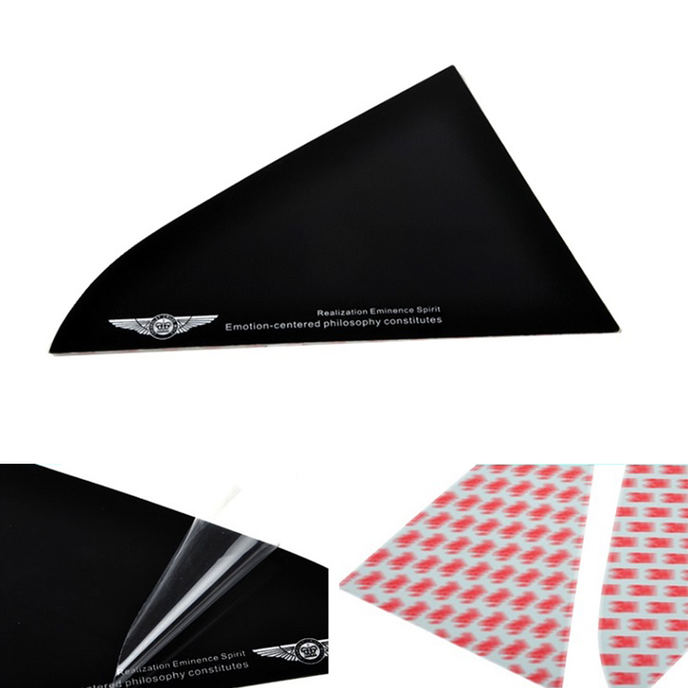 Car stickers Rear Window Triangle Sticker Reflective stickers For Chevrolet Cruze Decorative Triangle Sticker high quality car central station mat sticker for chevrolet cruze black 1pcs free shipping kl12329