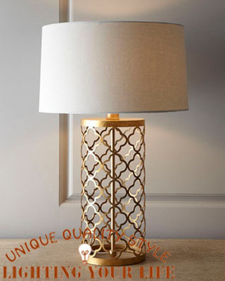 Rustic Tyrant Gold Table Lamp Vintage Iron Desk Lamp Satin Nickel