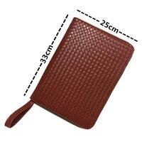 48 Roller Ball Pen / Fountain Pen /Ballpoint Pen Bag Brown Leather Pencil Case Antique pencil bag New|pen pda|case for samsung galaxy ace|pen gift -